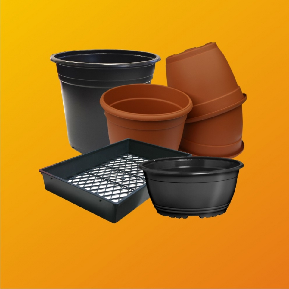 Pots, Baskets and Trays